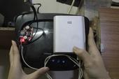 """Tự chế """"pin dự phòng"""" chạy modem WiFi chơi game khi mất điện"""