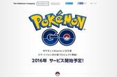 Trang chủ Pokemon GO bất ngờ xuất hiện