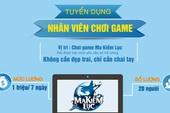 Một game online Việt Nam tuyển nhân viên chỉ ngồi chơi game vẫn có lương