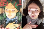 Cô gái cosplay theo tác phẩm của ông hoàng manga kinh dị Nhật Bản - Junji Ito