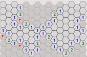 Hexa Minesweeper - Dò mìn của người Việt khó hơn với tạo map tổ ong