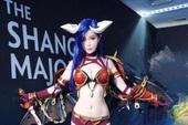 "Lăng Nhan - Nữ coser ""Queen of Pain"" gây sốt tại Shanghai Major"