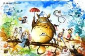 Tặng độc giả 149 bức tranh nghệ thuật về thế giới anime của Studio Ghibli