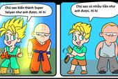 Truyện tranh hài - Bài học về cuộc sống rút ra từ Dragon Ball