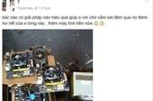 Chủ quán net đen đủi bị sét đánh hỏng cả loạt máy tính