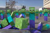 Thanh niên trả thù zombie Minecraft và cái kết