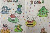 Không ngờ từ khi 8 tuổi, game thủ Việt này đã vẽ được nhiều Pokemon đẹp thế