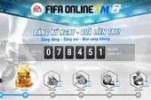 Garena Việt Nam bất ngờ hào phóng, vung quà tặng nhân ngày FIFA Online 3 Mobile Open Beta