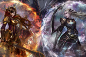 Liên Minh Huyền Thoại: Choáng ngợp với tác phẩm Fan Art siêu đẹp về cuộc chiến giữa Leona và Diana