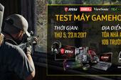 """""""Khởi động"""" chung kết MSI PUBG Championship 2017: Mở máy free cho 100 anh em đến GameHome chinh chiến ngày 23/11"""