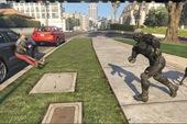 Cười bò thanh niên phá làng phá xóm trong GTA V bằng... bộ giáp trong Crysis 3