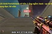 SR25 Gold Punishment: Mẫu Sniper kết hợp… súng phóng lựu cực dị trong Đột Kích