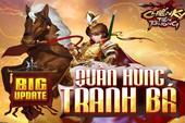 Chiến Kỵ Tiên Phong chính thức Big Update Quần Hùng Tranh Bá, ra mắt tướng Đỏ siêu hiếm