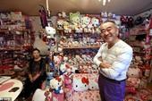 Chiêm ngưỡng bộ sưu tập Hello Kitty lớn nhất thế giới của cụ ông Nhật Bản