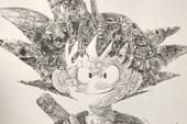 Đố bạn nhìn ra có bao nhiêu nhân vật Dragon Ball trong bức tranh về Goku này?