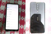 Smartphone Nokia bí ẩn lộ diện, màn hình tràn cạnh trên, không tai thỏ, 3 camera sau