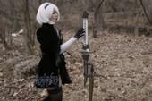 Chế tạo thanh kiếm tuyệt đẹp của cô nàng 2B trong NieR: Automata