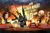 """Đột Kích thả """"bùa yêu"""", tặng miễn phí vũ khí 10 tuổi cho game thủ tham dự offline sinh nhật tại Hà Nội và Hồ Chí Minh"""
