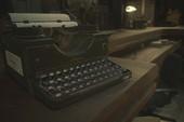 Làm bàn phím cơ dựa theo máy đánh chữ trong Resident Evil 2, Capcom khiến game thủ