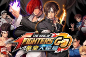 The King of Fighters GO - Game đối kháng thực tế ảo cho phép game thủ thách đấu với nhau ngay ngoài đường