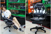 Trên mông Extreme Zero X: Ghế gaming ngày càng rẻ và ngon