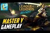 LMHT Tốc Chiến: Cận cảnh gameplay của Master Yi, bay nhảy mượt mà không kém bản PC