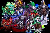 Bắt nhịp Halloween, Liên Quân Thủ Thành giới thiệu các thể loại ma quỷ vừa dị vừa ghê rợn