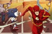 Có thể bạn chưa biết: Sonic chính là BẠN THÂN của siêu anh hùng The Flash trong vũ trụ DC
