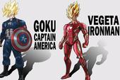 Khi Dragon Ball kết hợp với Marvel, một dàn siêu anh hùng mới đã được khai sinh