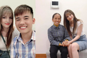 """Bà Tân Vlog cùng con trai chụp ảnh với gái xinh, dân mạng đồn thổi """"Bà có con dâu mới rồi"""""""