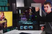 Bộ PC độ phong cách Cyberpunk 2077 đẹp chết ngất mà mạnh cũng phát khùng có giá loanh quanh 150 triệu đồng
