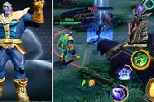 MARVEL Super War - đối thủ nặng ký của Liên Quân Mobile trình làng tướng Thanos với 4 ô kỹ năng