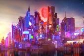 """""""Đứng hình"""" trước tác phẩm nghệ thuật tuyệt đẹp Cyberpunk 2077 được xây dựng hoàn toàn trong Minecraft"""