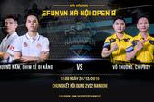 Chim Sẻ Đi Nắng thể hiện sức mạnh áp đảo tại vòng bảng EFUNVN Hà Nội Open 8 Championship