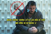 """Chôm búa tới 5 lần, Chris Hemsworth bị vợ ra sắc lệnh """"Cấm mang thêm đạo cụ đóng phim về nhà"""""""