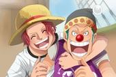 """One Piece: Hóa ra Shanks và Buggy cũng đã từng có 1 thời """"mặn nồng"""", sẵn sàng hy sinh vì nhau"""