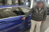 Vào cửa hàng tự làm xước xe BMW mới cứng - cách để cậu con trai đòi bố mua ô tô khiến dân mạng lác mắt