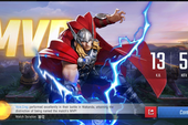 MARVEL Super War: NetEase tặng FREE tướng Hawkeye, skin The Thing khi game Open Beta