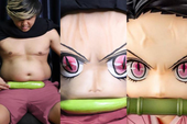 Cười sái quai hàm với loạt ảnh Kimetsu no Yaiba siêu dị của thánh cosplay giá rẻ