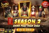Tần Thủy Hoàng xuất thế, Season 2 Long Đồ Bá Nghiệp – Chinh Phạt Thần Châu chính thức khởi tranh