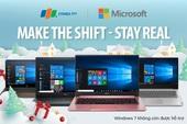 4 laptop tích hợp Wins 10 bản quyền cho mùa Giáng Sinh