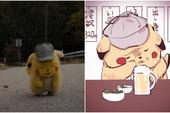"""Đang yên đang lành, Pikachu """"phê pha"""" bỗng nhiên lại trở thành trào lưu trên mạng xã hội Nhật Bản"""