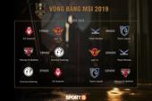 """Lịch thi đấu vòng bảng MSI 2019 ngày 10/5: Phong Vũ Buffalo đối đầu nhà vô địch thế giới, Faker chạm trán """"bản sao"""" đến từ châu Âu"""