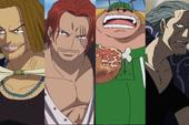 """One Piece: Bộ ba quyền lực dưới trướng Tứ Hoàng Shanks """"bá đạo"""" cỡ nào?"""
