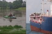 Livestream cảnh chèo thuyền trên sông, streamer suýt thì gặp tai nạn chết người, cận kề với án tử