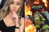 Livestream cảnh nấu ăn, nữ streamer xinh đẹp kích hoạt luôn hệ thống báo cháy