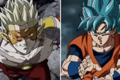 Super Dragon Ball Heroes mang đến cảnh chiến đấu ấn tượng giữa Goku và thủ lĩnh nhóm xâm lăng tối thượng