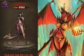 """Thánh Chiến 3D update tháng 7: Thiên Thần Sa Ngã Lucifer """"siêu sexy"""" thức tỉnh"""