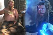 """Thor """"bụng bia"""" trong Endgame là do kỹ xảo hay tăng cân thật: Lời giải vừa được hé lộ rõ đến từng chi tiết"""