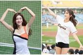 Vẻ đẹp nóng bỏng của các hot girl hoạt náo viên Hàn Quốc, thế này thì khán giả nào chả thích tới sân